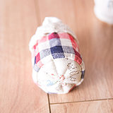 Cotton and linen thickened cloth art pastoral table foot cover child quiet desk and chair foot pad durable protection cushion chair foot cover