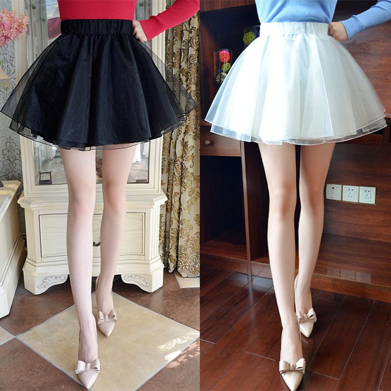 网纱蓬蓬裙裤