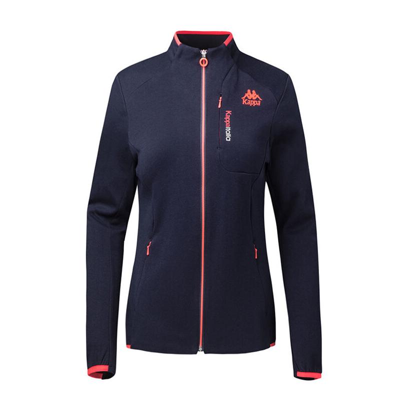 KAPPA/卡帕 专柜 女子 运动服 立领针织开衫外套 春款|K0722WK04