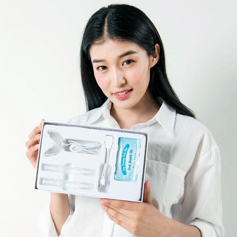 【买一送二】牙齿美白神器冷光美牙仪速效去黄牙烟渍男女雌爱套装