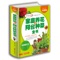正版 学会家庭养花和阳台种菜全书 全彩珍藏版 花卉圣经室内植物养花大全的图书籍 家庭养花实用宝典