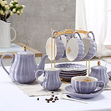 British girlfriends afternoon tea sets ceramic tea cup Continental Coffee Cup Set kit luxury home