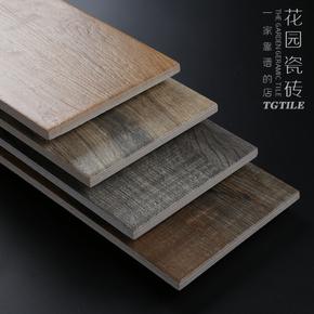 仿实木地砖 厨房客厅防滑瓷砖卧室木纹砖阳台地板砖仿古砖150 600
