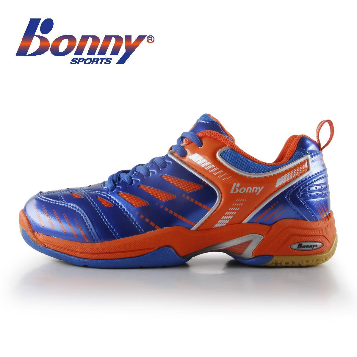 新BONNY波力减震专业羽毛球鞋运动鞋女鞋男鞋透气耐磨防滑302正品