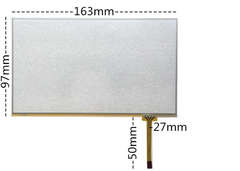 4.3寸 7寸 5寸触摸屏  MP4/MP5/GPS导航仪 6.2寸外屏手写屏电阻屏