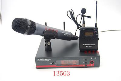 舞台演出话筒EW135G3122G3一拖一无线手持领夹头戴麦克风话筒咪排行
