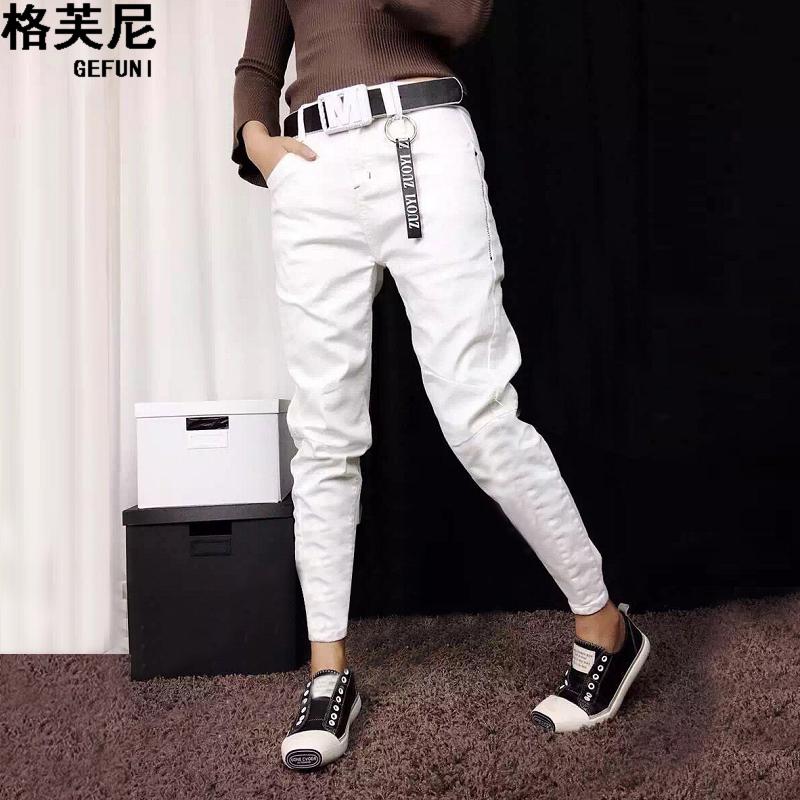 外穿休闲低腰裤