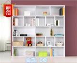 特价包邮实木板式环保书架书柜自由组合储物柜儿童教师学生家具