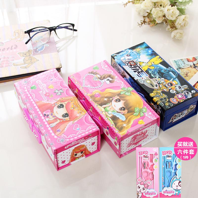 韩国可爱女孩笔盒