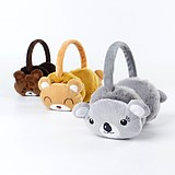 Winter children's cartoon warm earmuffs baby outdoor cold ear warm cute plush soft thick parent-child earmuffs