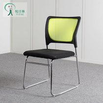 学生椅坐椅寝室床边固定脚布套椅子午休椅揉按直播加厚不锈钢靠椅