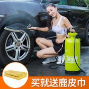 Manual car wash car wash artifact high pressure household car washing machine car brush car pump foam machine portable washing machine
