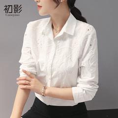 清新镂空衬衫