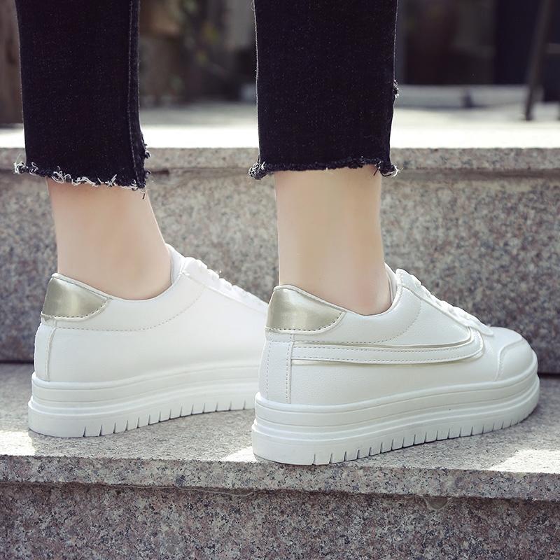 松糕韩版女鞋