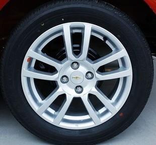 雪佛兰爱唯欧 15寸 原装 铝合金汽车轮毂 胎龄 铝轮送标志盖 钢圈