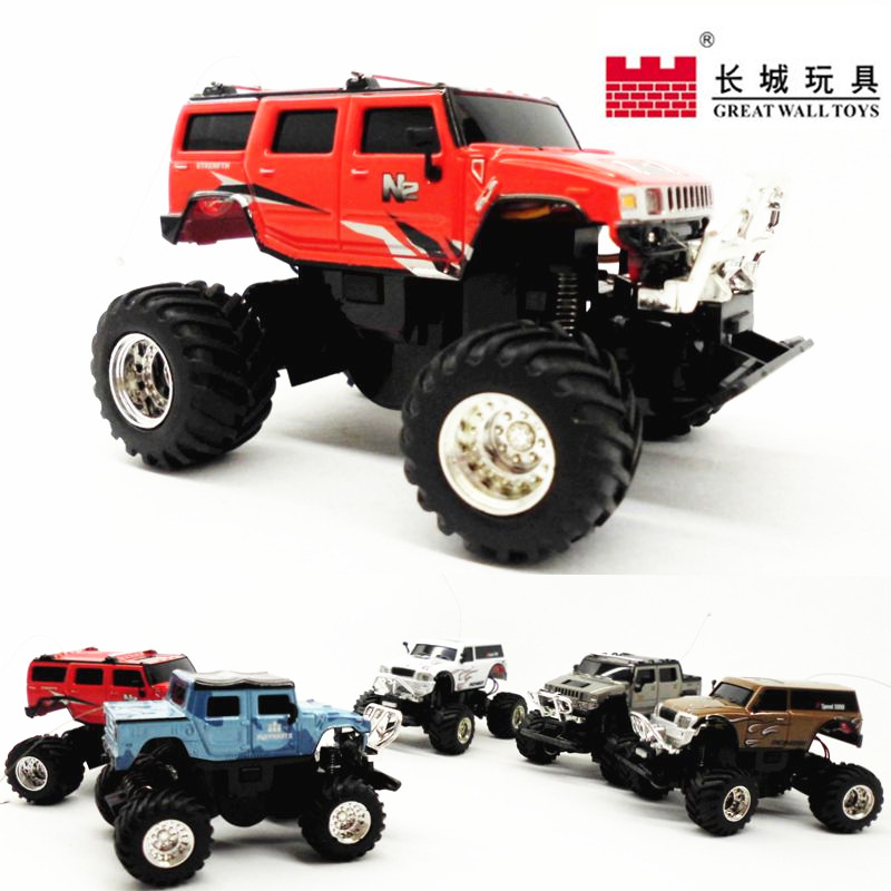 Innovation Great Wall Mini Remote Control Car Micro Charging 1:58 Offroad Remote Control Car
