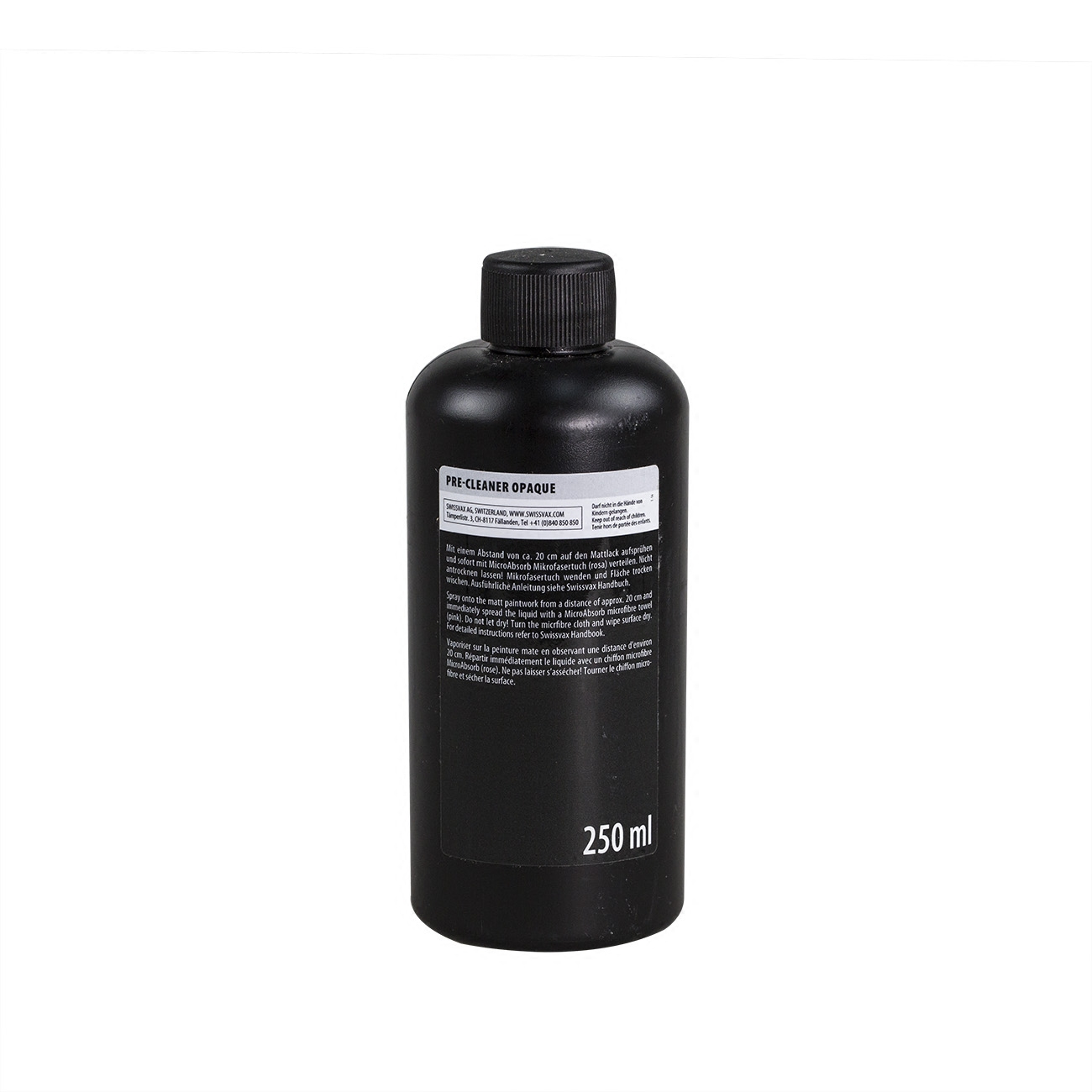 瑞士SWISSVAX PRE-CLEANER«OPAQUE»史维克斯哑光漆预洁修护液
