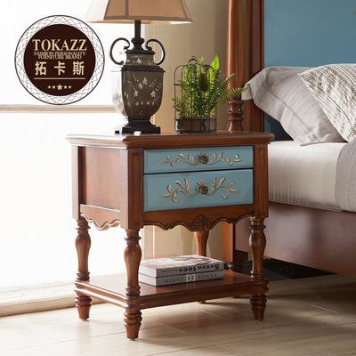 床头柜木彩绘新款推荐