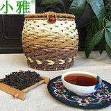 Black tea 2009 Chen Xiangalcohol slip Zhangzhou Xiaoya six fort tea factory 500 grams of tea special package parcel in addition to remote