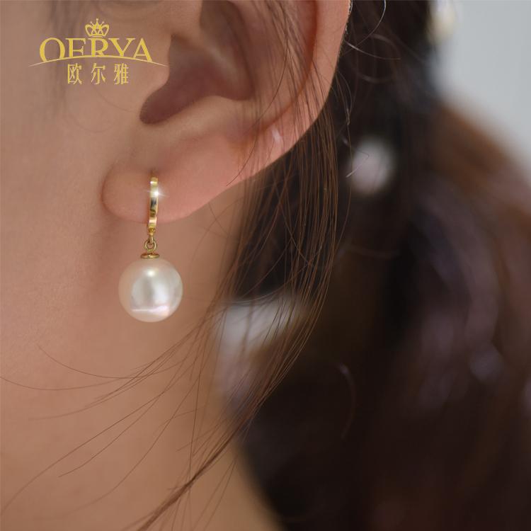韩国14k耳环