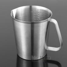304不锈钢量杯带刻度厨房烘培量杯量匙500700100015002000ML