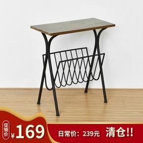 [尚森]美式角几边几沙发边桌现代移动小方几电话桌几家具小茶几
