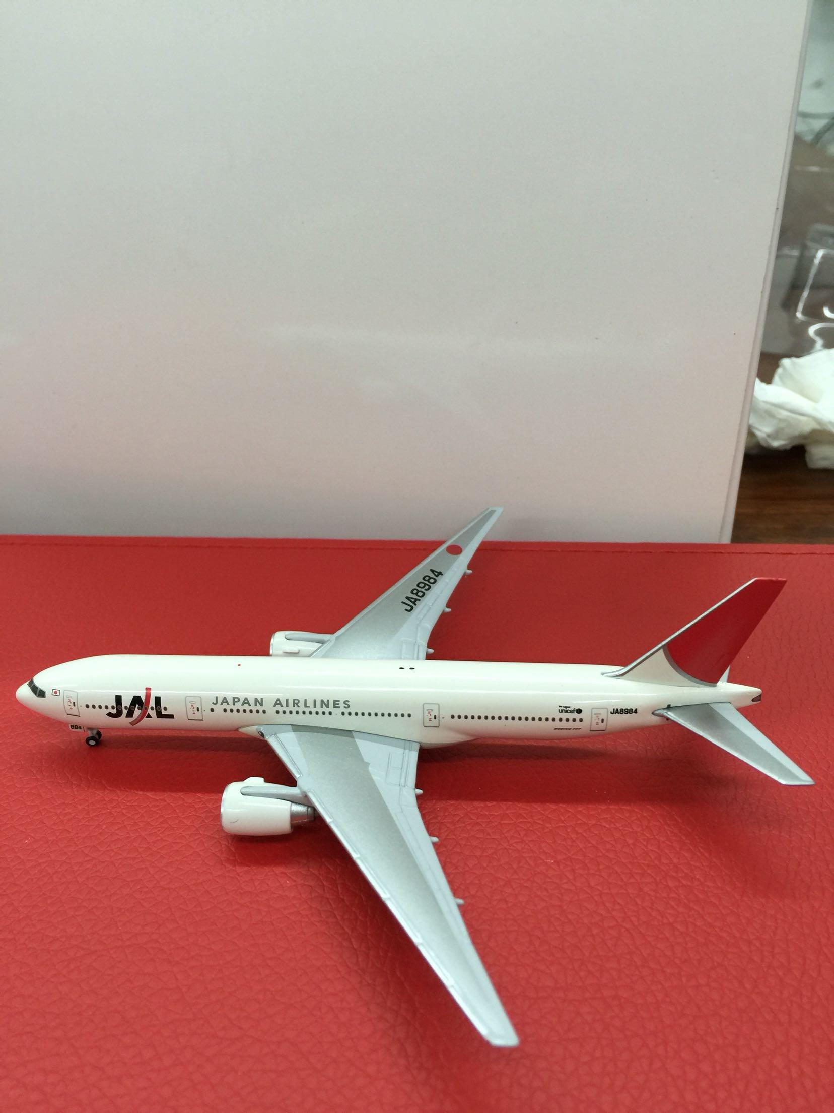 1:500starjets波音777-200日本航空客机模型