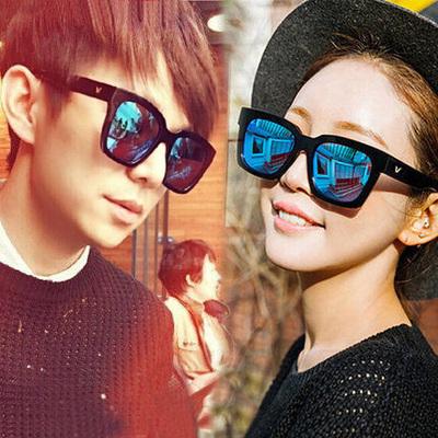 韩版明星款太阳镜女偏光镜复古大脸情侣眼镜时尚近视墨镜男士潮人