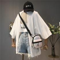 2018夏装新款韩版女装个性体恤交叉大码宽松露背t恤短袖学生上衣