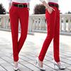 纯色秋款长裤