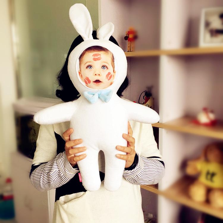兔子 玩偶diy