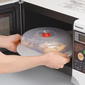 日本进口塑料保鲜盖厨房盖微波炉加热盖子盘盖碗盖冰箱食品保温盖