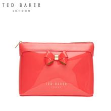 TEDBAKER女士时尚潮流纯色皮包化妆包便携化妆袋