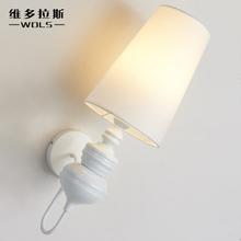 北欧式创意个姓后现代简约艺术壁灯卧室床头灯走廊楼道卫士墙壁灯