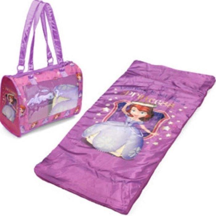 美國迪士尼幼童 蘇菲亞公主Sofia the First 睡袋  805A