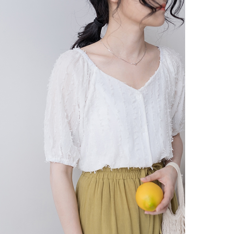 韩国流苏衬衣