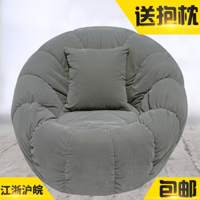 懒人沙发单人布艺拆洗卧室阳台客厅休闲时尚旋转榻榻米小沙发椅子哪里购买