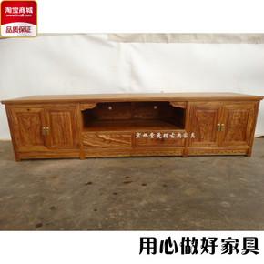 品牌烫蜡红木电视柜 明清仿古实木家具 刺猬紫檀花梨木客厅地柜