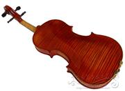 高档全手工天然虎纹小提琴、水平纹独板(整板)、欧料整板小提琴