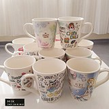 Export fashion creative mark cup ceramic simple water cup coffee cup cute cartoon milk coffee cup cup