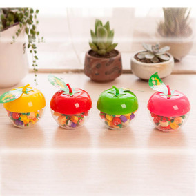 2016 New products apple Fruit style eraser set 苹果橡皮擦