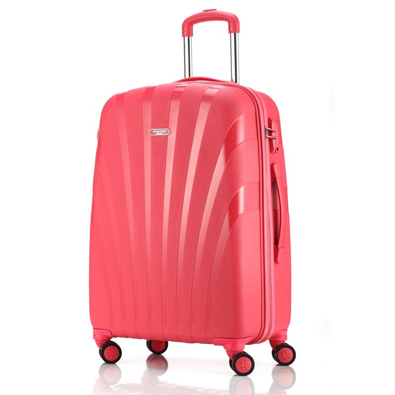 AMBASSADOR大使拉杆箱万向轮男旅行箱登机箱20寸24寸女皮箱行李箱