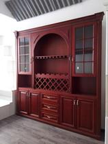 定制实木酒柜 西安定做酒柜 定做衣柜样品处理,其他尺寸可定制