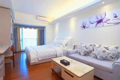 广州乐尔曼公寓越秀时光店江景大床房
