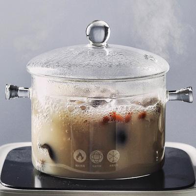 耐热玻璃锅汤锅