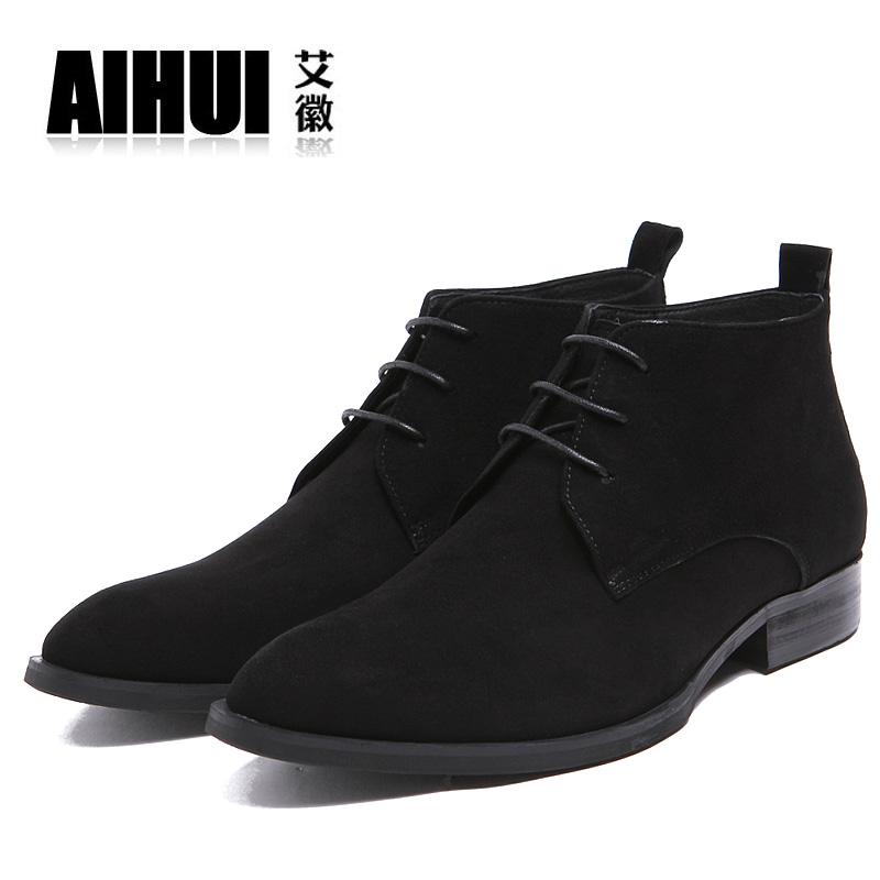 翻皮鞋男 秋冬