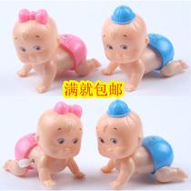 儿童小玩具批发1-2元婴幼儿上链发条创意毛毛虫爬娃益智宝宝玩具