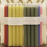 Classic Classic Classic Classic Classic Long-pole Candle Ivory White Red Green Blue Purple Candlelight Dinner Smokeless Soybean
