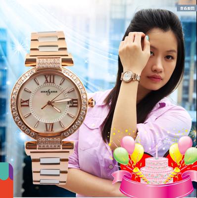 女装手表石英表