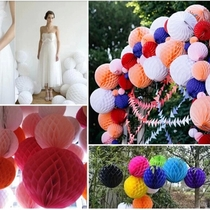 15cm honeycomb honeycomb paper ball Wedding Room Decoration wedding wedding birthday party yuanxiang New Year supplies